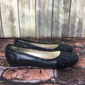 Jack Rogers Leather Flats